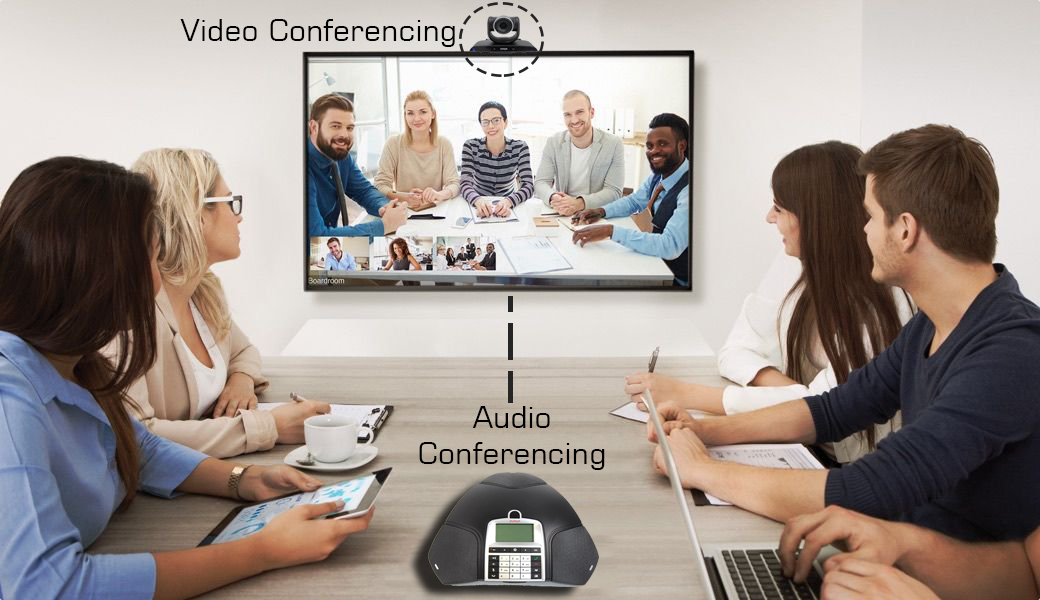 Adult amateur conferencing video with